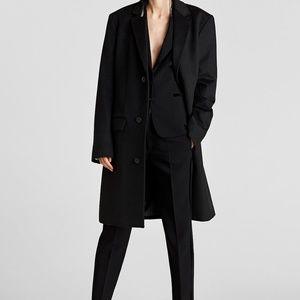 d4bfa2d84f Zara Jackets   Coats - Zara Double Breasted Velvet Knee Length Frock Coat